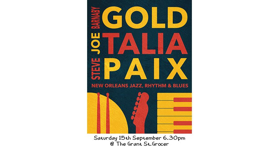 Gold, Talia & Paix – Jazz, Rhythm & Blues Performance