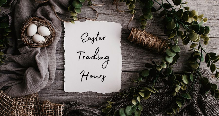 Easter Trading Hours and Pizza, Pasta & Steak Menu