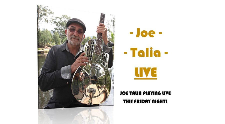 Joe Talia Performance Friday 19th July