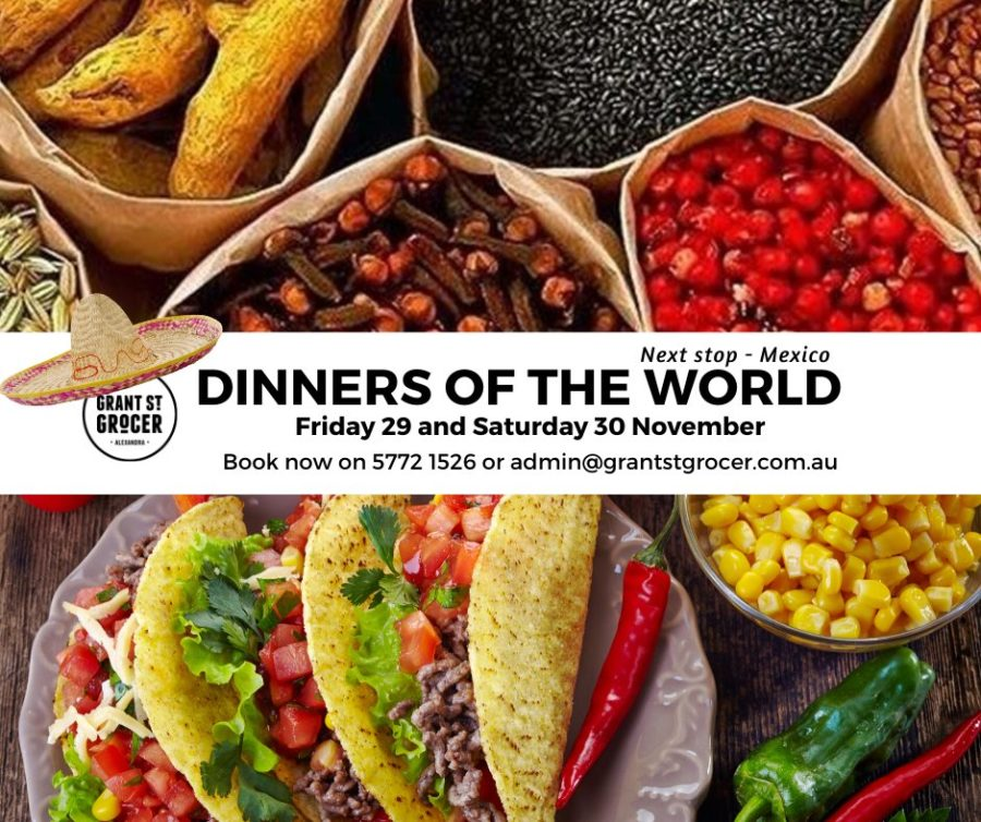 Dinners of the World – Mexico!