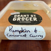 Pumpkin & Coconut Curry