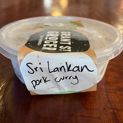 Sri Lankan Pork Curry
