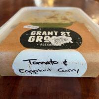 Tomato & Eggplant Curry